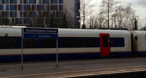 Southampton Central train station