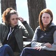 Kristen Stewart and Julianne Moore