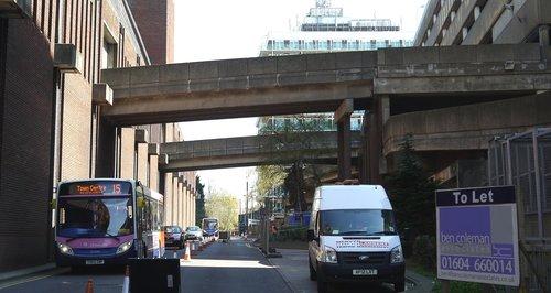 Greyfriars Road Bridges