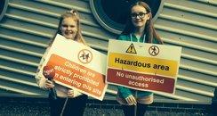 Pupils against school merger plans