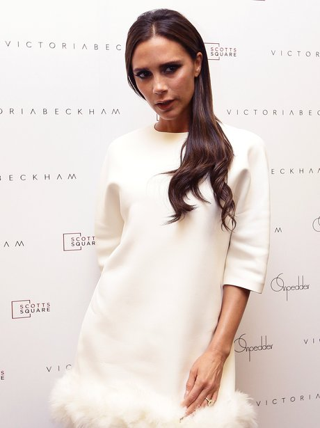 Victoria Beckham Visits On Pedders Store In Singap