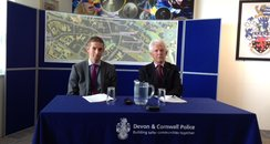 DCI Thorne and Derek Jeal