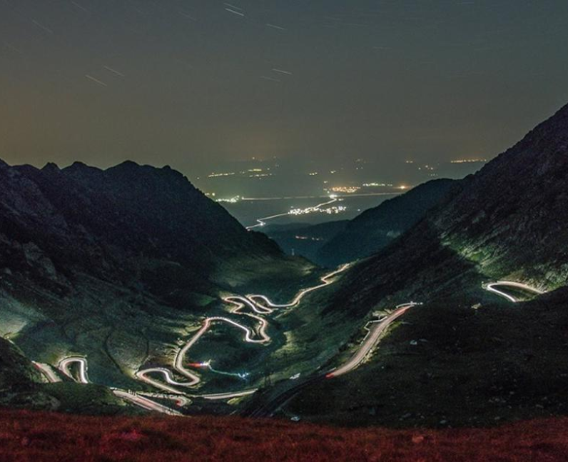 Transfagarasan Road in Romania