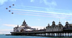 Airbourne: Red Arrows and Pier
