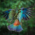 Image 4: A parrot in flight