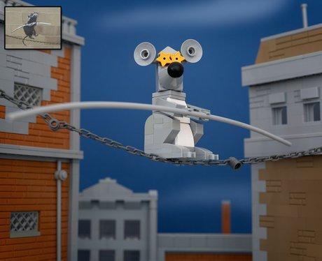 Banksy Lego By Jeff Friesen
