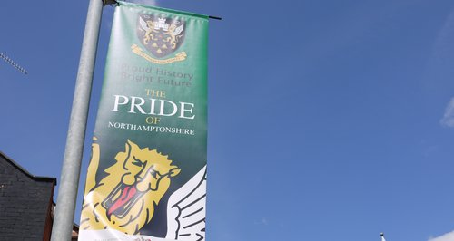 Northampton Saints Pride Poster