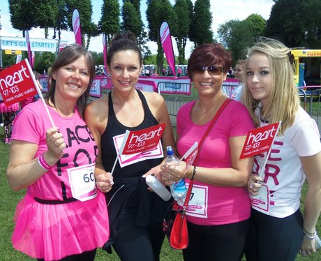 Windsor Race for Life: Before the Race 3pm
