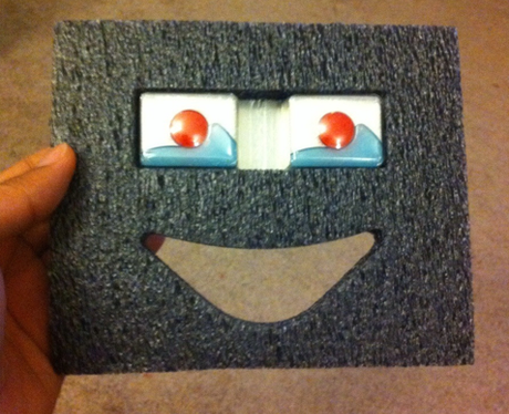 Dishwater tablets happy face