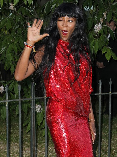 Naomi Campbell Serpentine Summer Party 2014