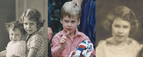 Guess The Royal Childhood Photo