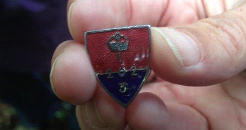 Resistance member badge