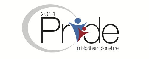 Pride in Northamptonshire 2014 Logo