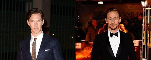 Benedict Cumberbatch and Tom Hilddleston