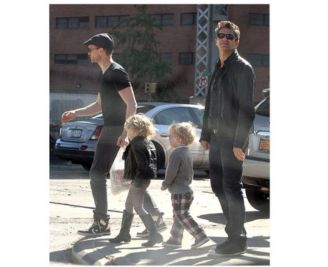 Neil Patrick Harris and David Burtka and family