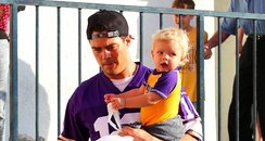 Josh Duhamel with son Axl