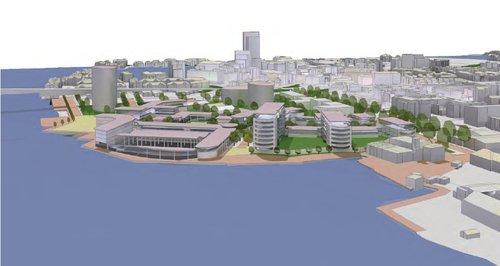 Southampton Chapel Riverside development artist im
