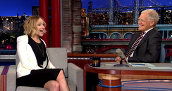 Jennifer Lawrence -David Letterman