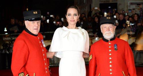 Angelina Jolie Unbroken premiere London
