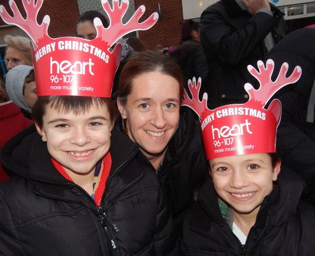 Heart Angels: Strood Christmas Light Switch On (22