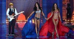 Victoria's Secret Adriana Lima and Alessandra Ambr