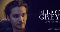 Luke Grimes as Elliot Grey in 'Fifty Shades Of Gre