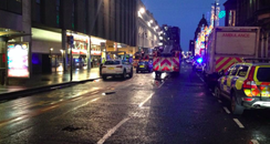 Pictures from the tragedy in Glasgow's city centre