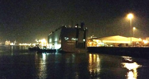 hoegh osaka in Southampton