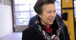 Princess Anne Opens Cambridge Fire Station