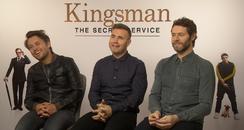Take That - Kingsman Junket