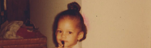 Alicia Keys as a young girl