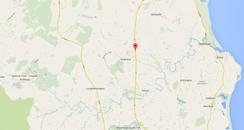 crash longframlington northumberland