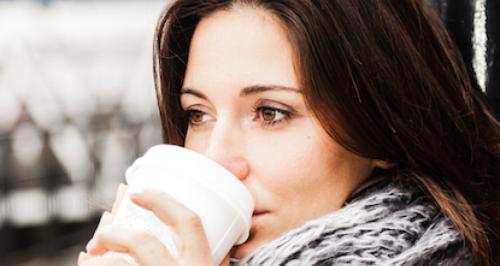 Drinking Takeaway Coffee