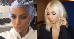 Brunette To Blonde - Kim Kardashian