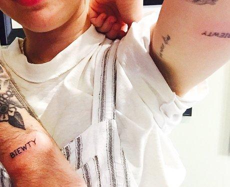 Miley Cyrus's new tattoo