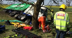 Caxton Gibbet Crash
