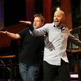 Jon Cryer & James Cordon on the late late show