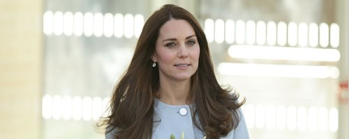 Kate Middleton in kensington
