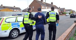 Northants Drugs Raids