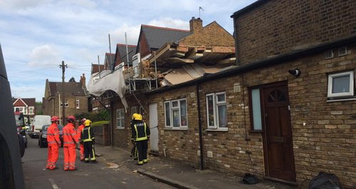 Ealing House Collapse