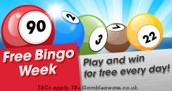 Free Bingo Week 244