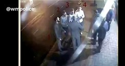 Men wanted over glass attack