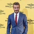 David Beckham opens Breitling Boutique