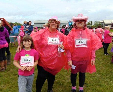 Race For Life Bridgend 2015: The Medals