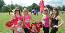 Race for Life in Regent's Park