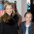 Kate Moss with daughter Lila