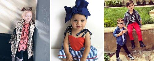 Fashionable Instagram Kids canvas