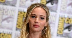 Jennifer Lawrence at Comic-Con 2015