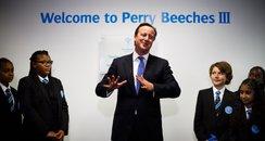 David Cameron at Perry Beeches III