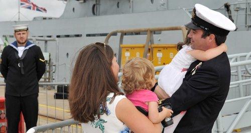 HMS Severn home
